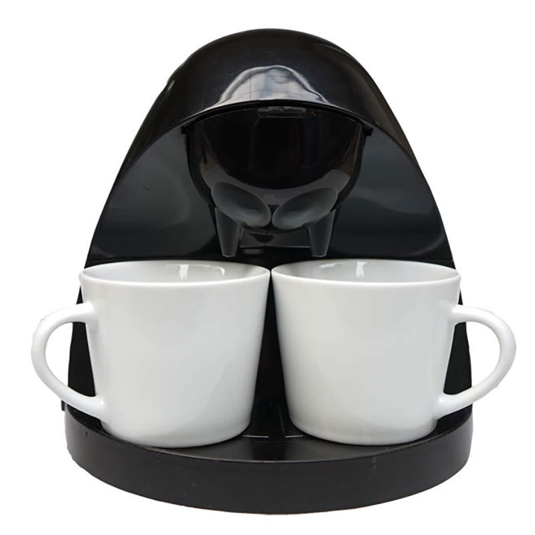 DPPAN Maquina de Cafe 2 Copas, Cafetera Servicio Individual con ...