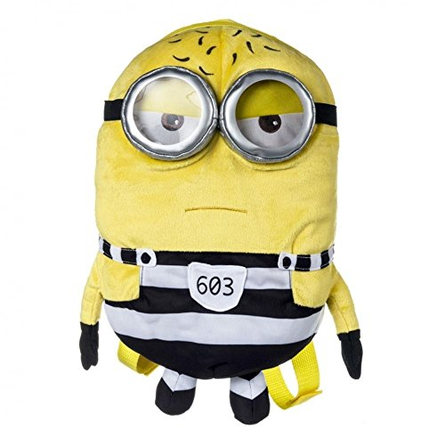 Despicable Me Minion Tom in Jail Minions Plüsch Rucksack