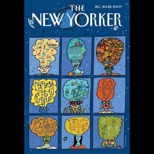The New Yorker, December 21st & 28th, 2009 audiobook cover art