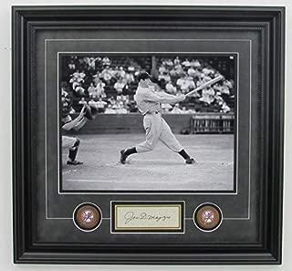 Joe DiMaggio Yankees Signed/Framed 11x14 B/W Photo JSA 140601