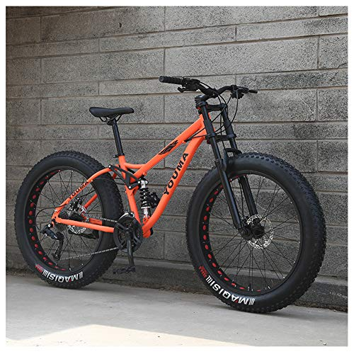 QMMD Adulto 26 Pulgadas Bicicleta Montaña, 21-24-27- Veloci