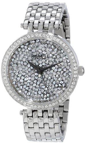 Caravelle New York Women's 43L160 Swarovski Crystal Pave Watch