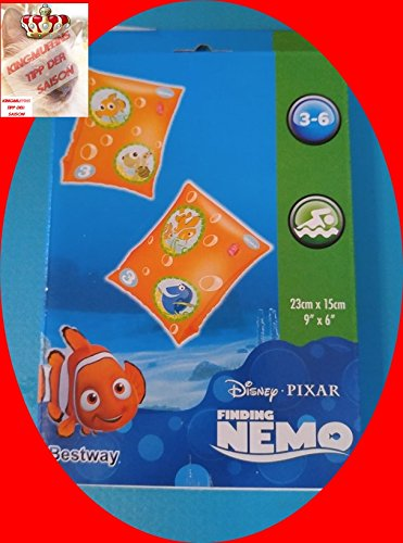 Schwimmflügel, Schwimmhilfen, 1 x 2 Schwimmflügel, neu und ovp, Motiv Findet Nemo, 23 x 15 cm, 3 - 6 Jahre