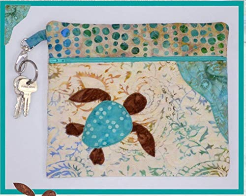 """Ready Set Go! Tote Pattern by The Sweet Tea Girls - 9.5"""" x 8"""" - STG-0137 Turtle"""