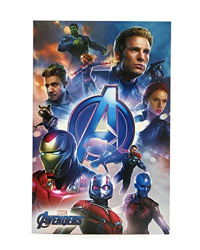 Geburtstagskarte für Kinder Avengers