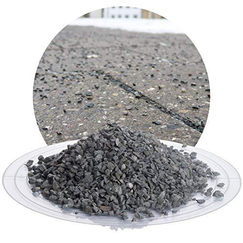 umweltfreundlicher Streusplitt aus Diabas Gestein, 25 kg Winterstreugut, reines Naturprodukt, salzfrei, sehr robust, verschiedene Körnungen: fein/grob/mittel (Diabas Streusplitt, 2-5 mm)