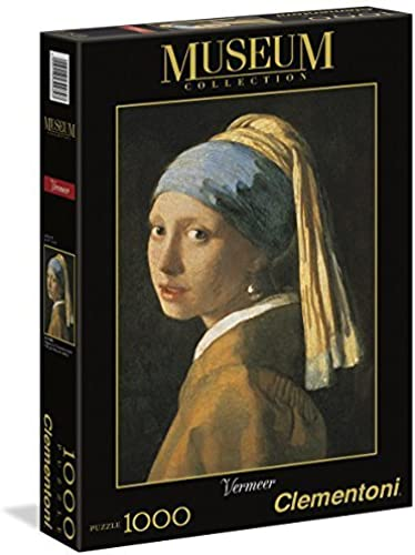 ahorra hasta un 80% The Girl Girl Girl with a Pearl Earing By Vermeer. 1000 Piece Jigsaw Puzzle Made by Clementoni by Clementoni  ¡envío gratis!