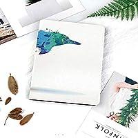 iPad Air251 ケース 超薄型 超軽量 TPU 対応 キズ防止 指紋防止 [オート スリープ/スリー プ解除] 印刷パターン色とりどりの動物デザインの水彩画のパターン活気に満ちた海洋哺乳類画像印刷