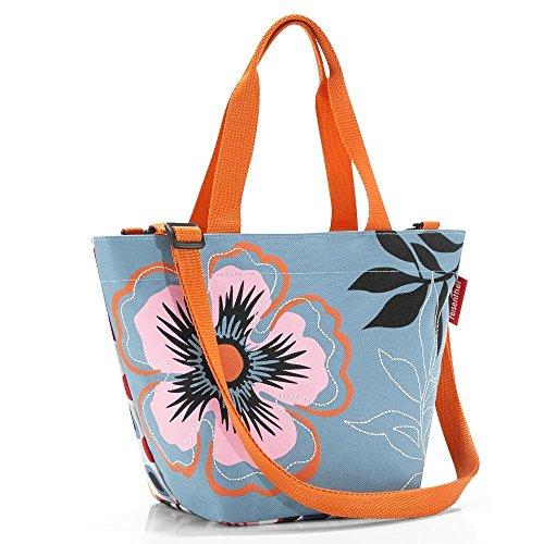 Reisenthel ZR4032 Shopper XS Special Edition Flower, 31 x 21 x 16 cm, 4 L Volumen, Einkaufstasche