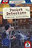 Schmidt Spiele 49378 Pocket Detective, Gefährliche Machenschaften, Krimi-und Dedektivspiel, Familienspiel