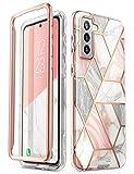 i-Blason Glitzer Hülle für Samsung Galaxy S21 (6.2