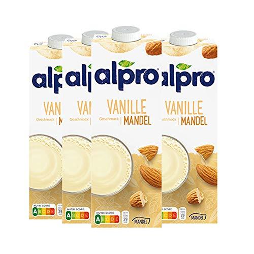 Alpro Mandel Drink Vanille - (4 x 1 L)