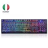 EZONTEQ Tastiera Meccanica Gaming RGB PC, Tastiera Gaming Keyboard, Tastiere da...