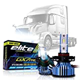 LED Conversion Kit Bulbs Low Beam Compatible with Volvo VN VNL Semi Trucks 2004-2017