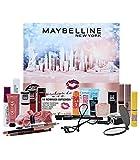 Maybelline New York Calendario de Adviento 2021, 24 días de belleza, cosméticos, calendario, sorpresas, 24 puertas, para el Adviento