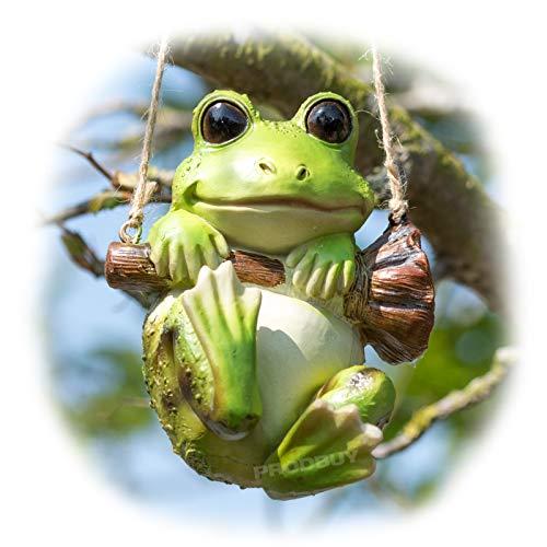 Prodbuy Hanging Frog Garden Ornament