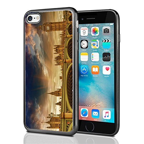 London Night Big Ben for iPhone 7 (2016) & iPhone 8 (2017) Case Cover by Atomic Market