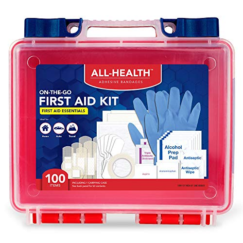 (47% OFF Deal) First Aid Kit – 100pcs $7.49