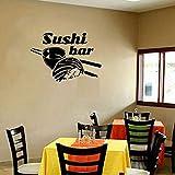 Hlonl Restaurant Wandtattoo Sushi Lebensmittel