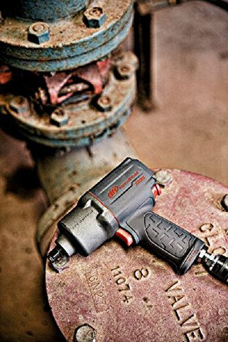 Ingersoll Rand 2235TiMAX 1/2-Inch Drive Air Impact Wrench, 930 ft-lbs Max Reverse Torque, Gray