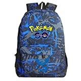 Kids Cartoon Pokémon Backpack School Rucksack Backpack for Boys Girls Acticuno