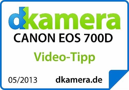 Canon EOS 700D Fotocamera Reflex Digitale, 18