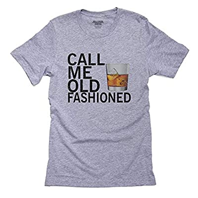 Call Me Old Fashioned - Scotch Whiskey Glass Drink Men's T-Shirt