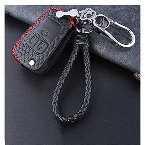 RTDFGH Funda de cuero para llave de coche, para Buick OPEL / Vauxhall para Astra J Corsa E Insignia Zafira C Encore Envision New LacrosseB
