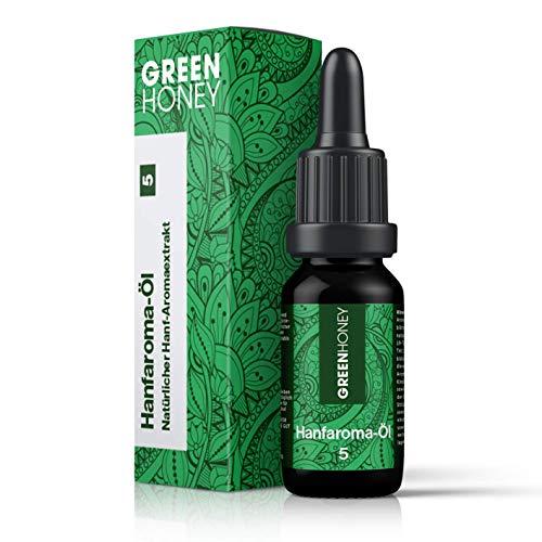 GREENHONEY ® HANFAROMA Öl 5% - MADE IN...
