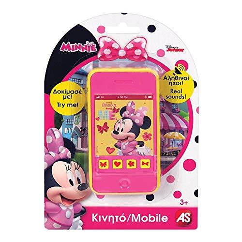 AS Company 1027-64209 Minnie Toy Teléfono móvil, Multicolor