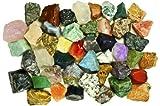 Fantasia Materials: 3 lbs (Best Value) of Exclusive Premium Asia Stone Mix - Raw Natural C...