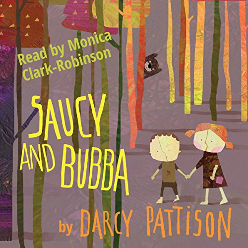 Saucy and Bubba audiobook cover art