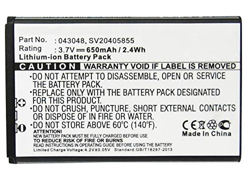 Synergy Digital Battery Compatible with Swissvoice 43048 Cordless Phone Battery - (Li-Ion, 3.7V, 650 mAh)