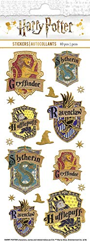 Harry Potter - Paper House Sticky Pix Faux Enamel Stickers
