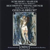 Streichquartett Nr. 14 & Grosse Fuge by SCHUBERT / MAHLER / BEETHOVEN / W