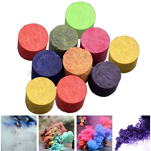 Starall 1/10 Pcs Colorful Smoke Cake Pills Studio Photographie Props Film Télévision Tabac Cigarettes Maker