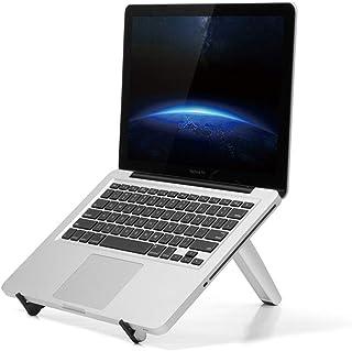 حامل حامل كمبيوتر محمول AMERTEER قابل للتعديل: محمول مع لوحة ماوس مريحة تمامًا للتركيب Ultrabook MacBook Gaming Notebook خ...