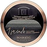 Bourjois 1 Seconde - Sombra de Ojos, 001 Black On Track, 42 gr