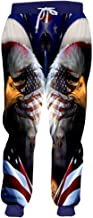 Joggers 3D Print Unisex Sweatpants Snow Wolf Trousers Men Running Pants