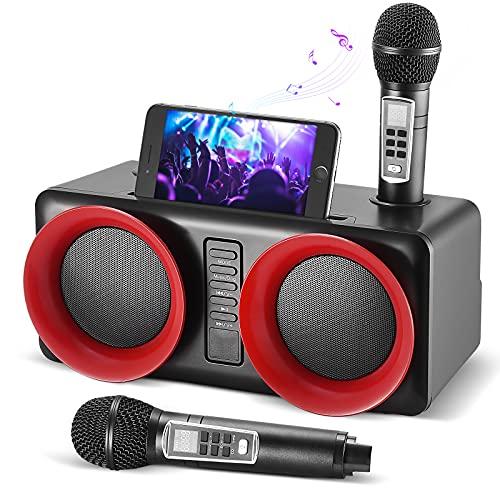 Kacsoo Macchina per karaoke Bluetooth ricaricabile Suono di altissima qualità   Un pulsante per...