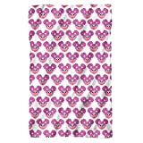 Sesame Street Simple Abby Pattern Officially Licensed Fleece Blanket 36' x 58'