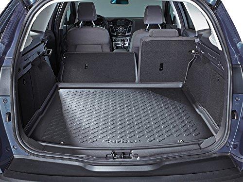 Kofferraumwanne Kofferraummatte Kofferraumschale schwarz geruchlos formstabil inklusive Multimatte Ladekantenschutz