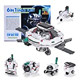 AESGOGO STEM Projects 6-in-1 Solar Power Robot Kit,Science Experiments Toys for...