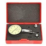 38mm Indicateur de Test du Cadran Indicateur de Précision Jauge à Cadran Test de Levier en Acier au Tungstène Outil de Mesure de Jauge à Cadran