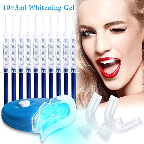 Kit de blanqueamiento dental casero,gel de blanqueamiento dental, blanqueamiento efectivo...