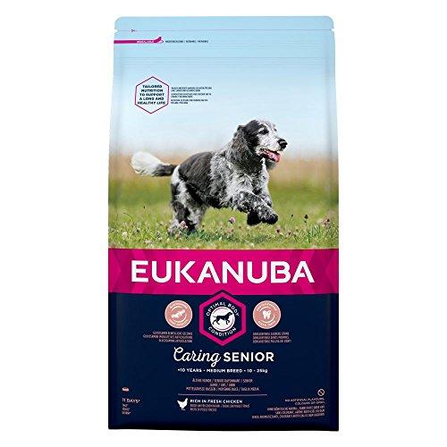 Spectrum - EUKANUBA Caring Senior Medium Breed Rich In Fresh Chicken - 2kg - EU/UK