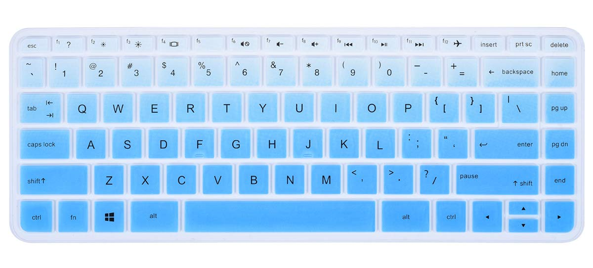 2013 version 13 2015 version BingoBuy Semi-Green Soft Ultra thin Silicone Keyboard Protector Skin Cover for Backlit Dell Alienware 14 13 R2 if your enter key looks like 7, our skin cant fit 2014 version Gaming Laptop