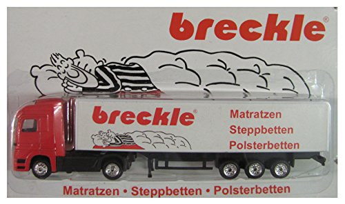 Breckle Nr. - Matratzen, Steppbetten & Polsterbetten - MB Actros - Sattelzug