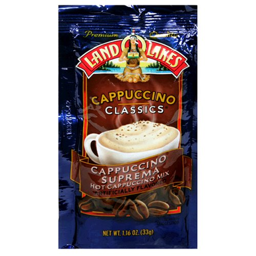 Land O Lakes Cappuccino Classics, Cappuccino Suprema, 1.16-Ounce Packets (Pack of 36)