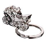 Llavero con diseño de motocicleta, ideal como regalo para hombre